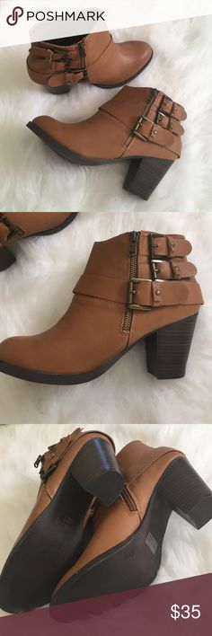 Brand New Cathy Jean Bootie Brand New Cathy Jean Bootie, never been worn, faux leather. Cathy Jean Shoes Ankle Boots & Booties