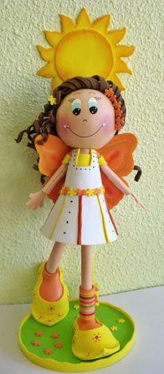 fun foam fairy doll...photos only