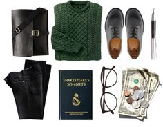 """""""school makes me nervous"""" by emiliahawk ❤ liked on Polyvore"""