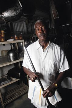 While reporting our April 2013 special feature on New Orleans, we got to meet the people behind some of the city's most iconic restaurants—the waiters, bartenders, and line cooks who make it all happen. In this interview, Karry Bird talks about his work as a pot cooker at Pascale's Manale in New Orleans.