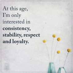 My truth.
