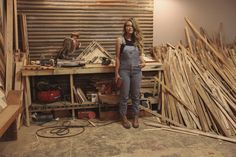 Urban Outfitters - Blog - About a Girl: Aleksandra Zee Woodworker  I WANT TO BE HER!