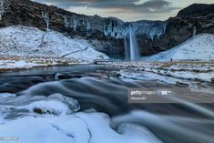 Iceland Long Exposure Of Seljalandsfoss In Winter Photography #Ad, , #ad, #Exposure, #Long, #Iceland, #Photography Business Powerpoint Presentation, Long Exposure, Winter Photography, Iceland, Ads, Outdoor, Ice Land, Outdoors, Winter Pictures