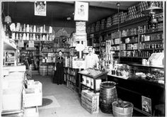vintage everyday: Rare Vintage Photos of Stores in Victorian Era