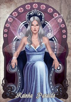 Essa é a Paralda, rainha do mundo das Fadas! www.linhastortas.com