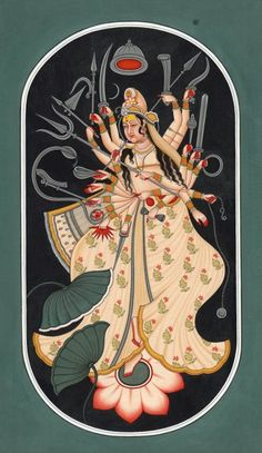 Cosmic Form of Goddess Durga. S)