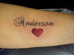 Tatuagem / Escrita / Coração / Antebraço / Tattoo / Writing / Heart / Forearm #studio900 #crismaia
