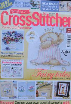 Cross Stitcher Magazine UK by TheHowlingHag on Etsy, $7.95