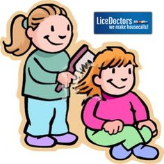 Not a great idea for friends to share brushes and comb each other's hair.