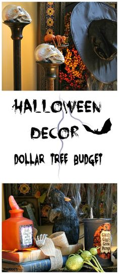 Halloween decor and some serious fun party ideas. Music, games and more. #spon
