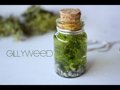 Gillyweed : Harry Potter Potion Ep. # 7- nice for a party favour- Harry Potter themed party