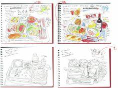 「手帳スケッチ」 - KIMIKOの カラフルスケッチ日記 blog Colorful Sketch