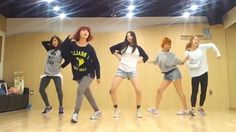 Wonder Girls 'Like This' mirrored Dance Practice (+playlist)