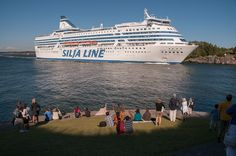 Silja Line, Suomenlinna, Finland. Cruised from Stockholm, Sweden to Helsinki, Finland on the Silja Line, across the Baltic Sea, through the Archipeligo Islands 1985.