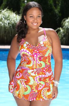 Swimwear Plus Size Clothing | Plus Size Clothing - Plus Size Swimwear, Plus Size Swimsuit Cover ups ...