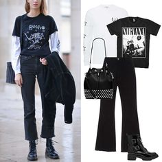 Street Style Stars Are Bringing Back Your Favorite Mid-Aughts T-Shirt Trend - Borrowed from the Boys from InStyle.com