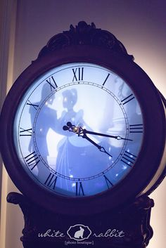 Cinderella clock...pretty (not a direct link, but a cute one about Disney-weddings).