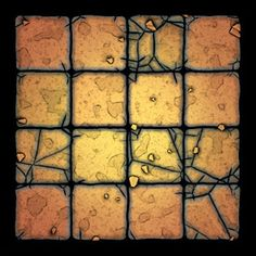 Free dungeon tiles to print: Cartoon Dungeon Dungeon Tiles, Dungeon Maps, Tabletop Rpg, Tabletop Games, Warhammer Dark Angels, Miniature Bases, Background Tile, Diorama, D&d Dungeons And Dragons