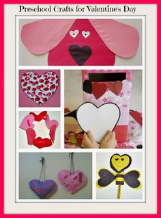 Preschool crafts for Valentine's Day!