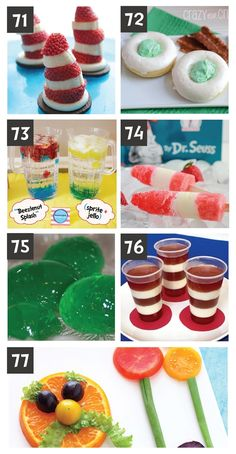 Dr. Suess Snacks