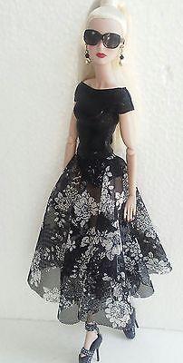 12 inch fashion doll dress one size fits all nuface, Fr,fr2, Barbie all dolls