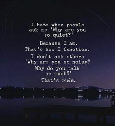 It's not their fault, some people function quietly. Let them be. #Factsaboutpeople #Quietperson #Peacefulquotes #Inspirationalquotes #Dailyquotes #Quotes #therandomvibez Motivacional Quotes, Mood Quotes, Wisdom Quotes, True Quotes, Empathy Quotes, True Friendship Quotes, Poetry Quotes, Qoutes, Vie Positive