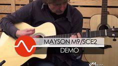 Mayson M9/SCE2 Smart Concept guitar DEMO