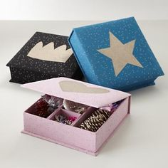 Kids Storage: Sparkle Jewelry Boxes in All Sale Items  was $24.95, now $14.95