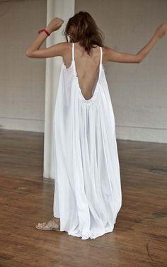 Gather Maxi Dress / S027