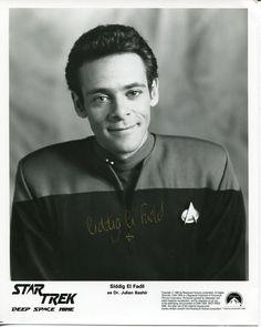 Alexander Siddig Star Trek DS9 Signed Autograph Photo | eBay