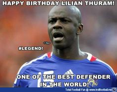 Simply #Legend..Happy Birthday Lilian Thuram  http://www.trollfootball.me/display.php?id=16832   #football #soccer #Trollfootball #LilianThuram #Thuram #HappyBirthday