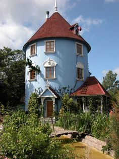 Photo by Xvalo Moomin House, Heavy Burden, Studio Ghibli Movies, Howls Moving Castle, My Dream Home, Finland, Real Life, Garden Ideas, Scenery