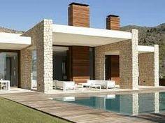 White rock house