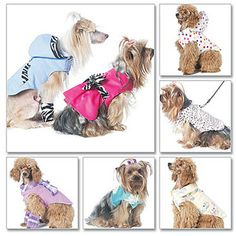 McCall's Pattern Pet Clothes, All Sizes in 1 Envelope