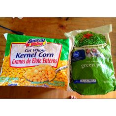 A MUST for everyone....Frozen  Corn and Peas as a Face compress every morning to de-puff or just to cool off and refreshen.