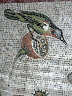 Mosaic Animals, Mosaic Birds, Mosaic Art, Medieval Home Decor, Medieval Art, Art Periods, Mosaic Madness, Italy Art, Byzantine Art