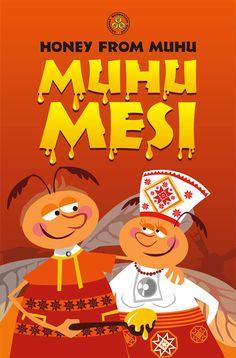 MUHU MESI...honey from Muhu Professional Logo Design, Better Life, Packaging Design, Print Design, Honey, Island, Inspiration, Biblical Inspiration, Islands