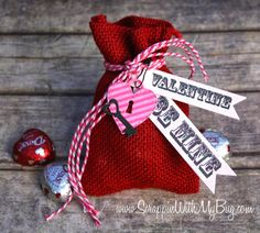 Scrappin with my bug: Jaded Blossom Release day 5 ~ Valentine Valentine Bingo, Valentines Day, Treat Bags, Red And Pink, Bugs, Project Ideas, Projects, Jade, Reusable Tote Bags