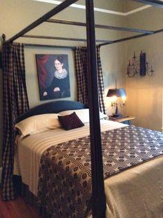 Kathleen Joye Country Living Decor, Cottage Style Decor, Cozy Bedroom, Bedroom Bed, Bedroom Decor, Primitive Country Bedrooms, Primitive Bedding, Primitive Homes, Country Bedding
