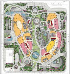 G:L3159 Guangzhou, Tianhe Plaza- underground mall1 AR (Archit