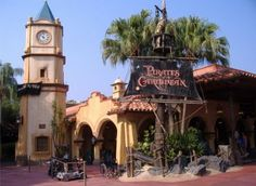 WDW Magic Kingdom- Pirates of the Caribbean ride has been a fave forever