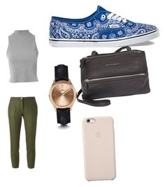 """""""Untitled #42"""" by madison-lxii ❤ liked on Polyvore featuring Vans, Erika Cavallini Semi-Couture, Glamorous, Givenchy and Kennett"""