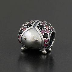 Pandora Sparkling Ladybug Charm - 791484CFR