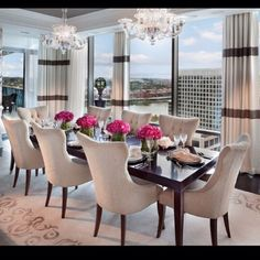 Awesome Beautiful Dining Room Setting Part 20