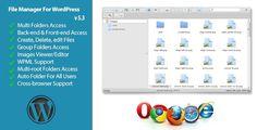 CodeCanyon - File Manager Plugin For WordPress Free Download