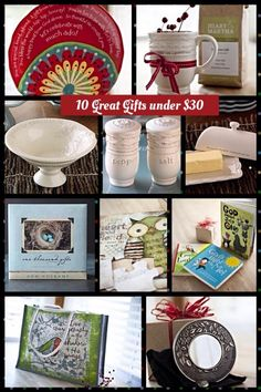 Great gifts for those on your list!! Visit www.mymaryandmartha.com/NWoodard to place your order today!!!