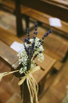 lavender + baby´s breath = <3 - Provence Wedding at Le Château des Selves from Coralie Polack Photography