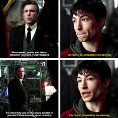 Justice League | the flash ~ competitive ice dancing