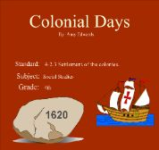 13 Colonies - Great Smart Board lessons and activities