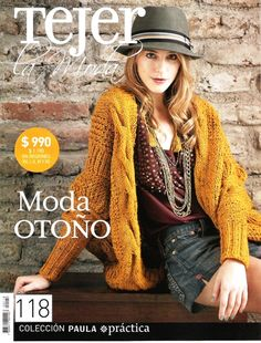 Album Archive - Tejer la moda nº 118 Crochet Book Cover, Crochet Books, Knitting Magazine, Crochet Magazine, Knitting Books, Knitwear Fashion, Crochet Poncho, Crochet Sweaters, Catalogue